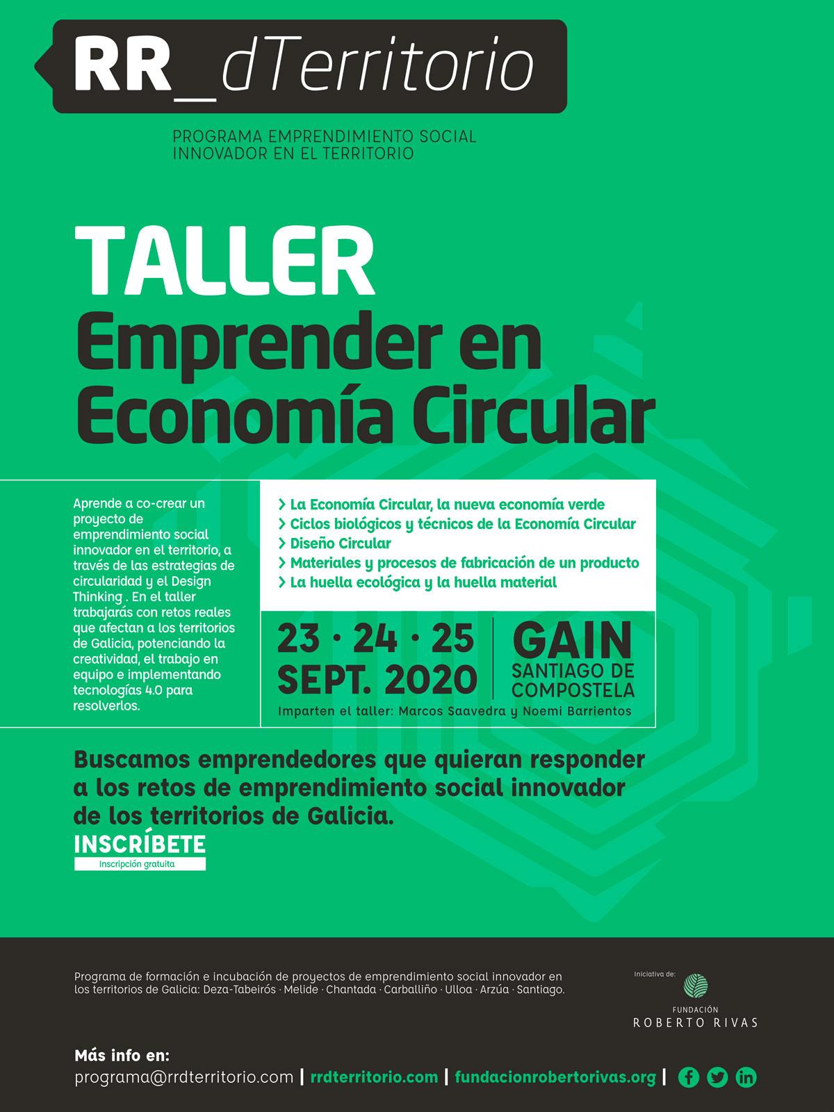 Taller Emprender en Economía Circular