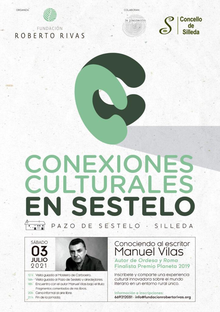Conexiones culturales en Sestelo: Un encuentro con el escritor Manuel Vilas